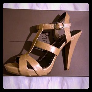 Strappy sandals size 9, fits size 8.5